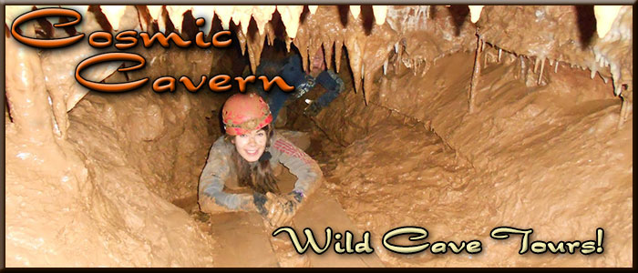 Cosmic Cavern - Wild Cave Tours